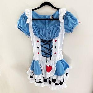 Legs Avenue Alice In Wonderland Costume